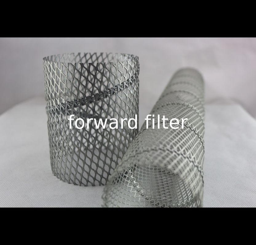 Cloth Core Perforated Metal Tube Straight Spiral Welded With Custom Length