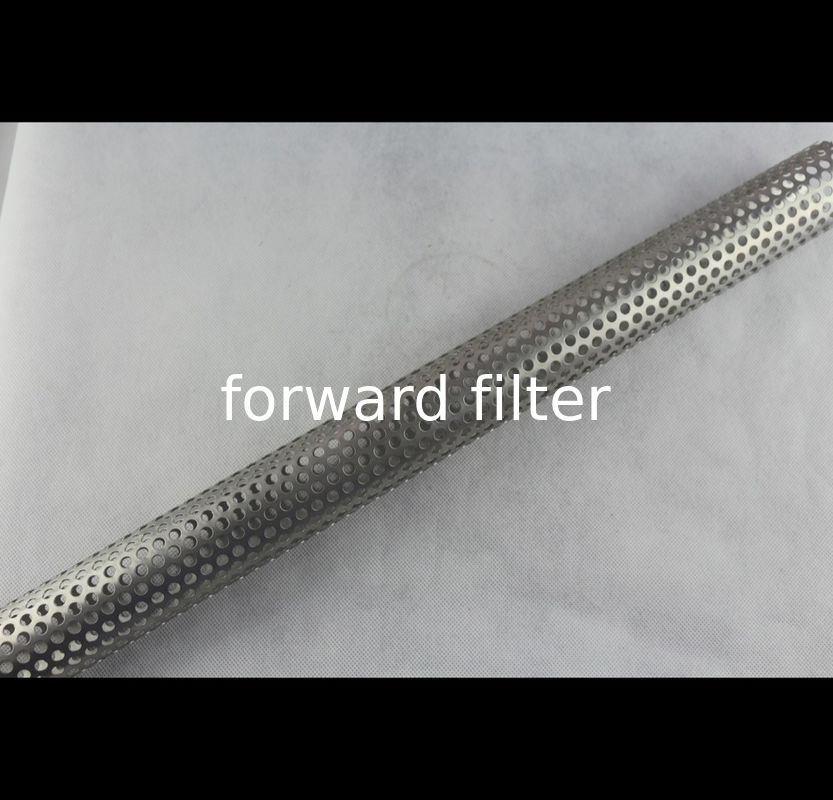 Aluminum Perforated Metal Pipe Water Treatment Food Processing Carbon Steel