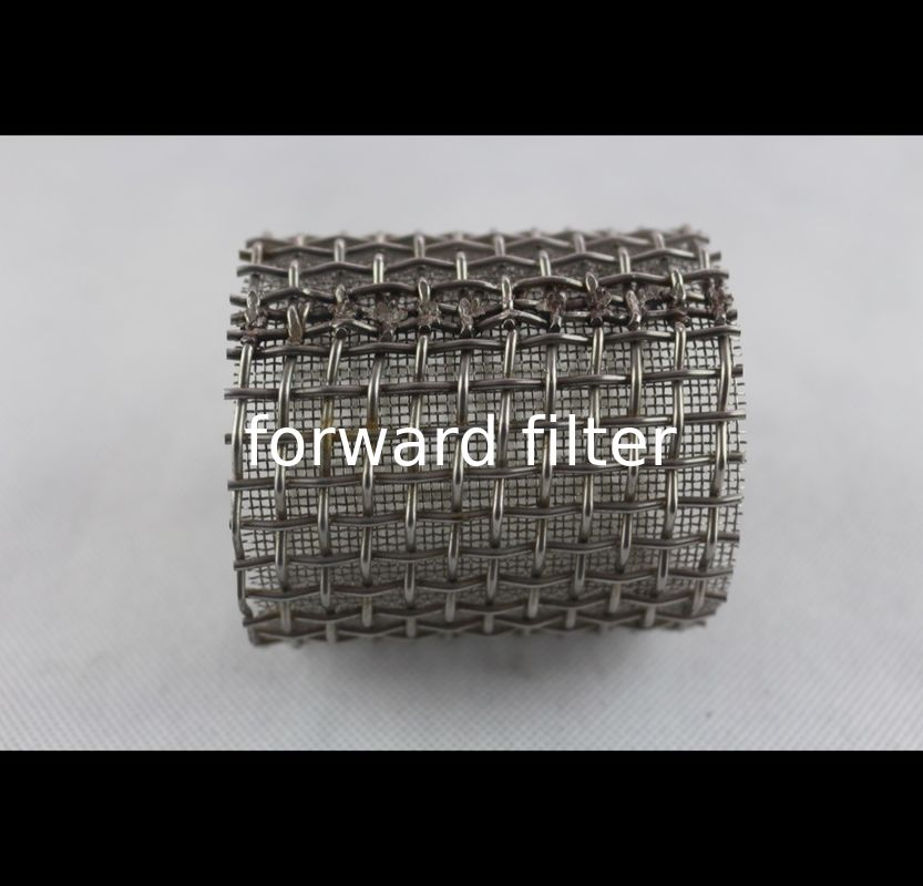 Perforated Stainless Steel Filter Tube Thickness 0.2 mm-15 mm Industrial