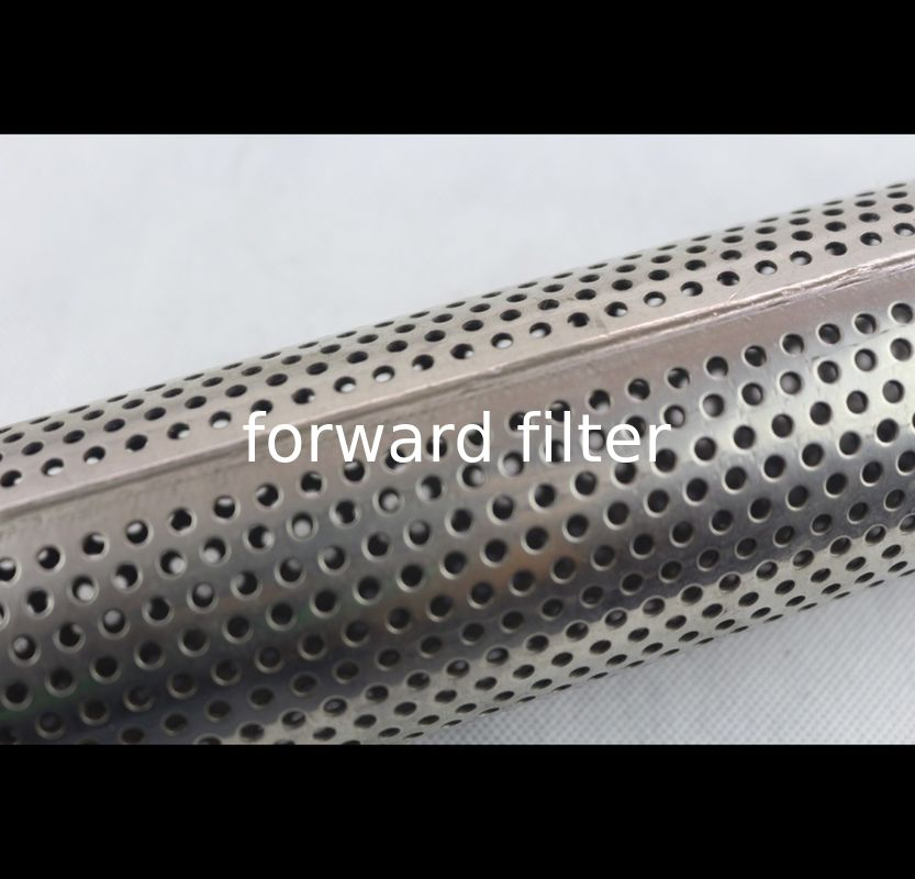 Polished Surface Perforated Stainless Steel Tube Round Square Hex 1 mm -10 mm