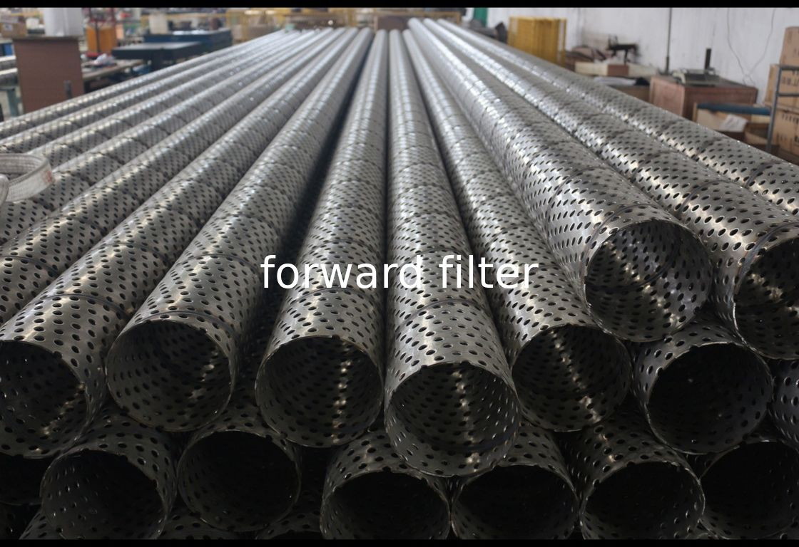 304 316L Perforated Stainless Steel Tube Nickel - Chromium With Polishing