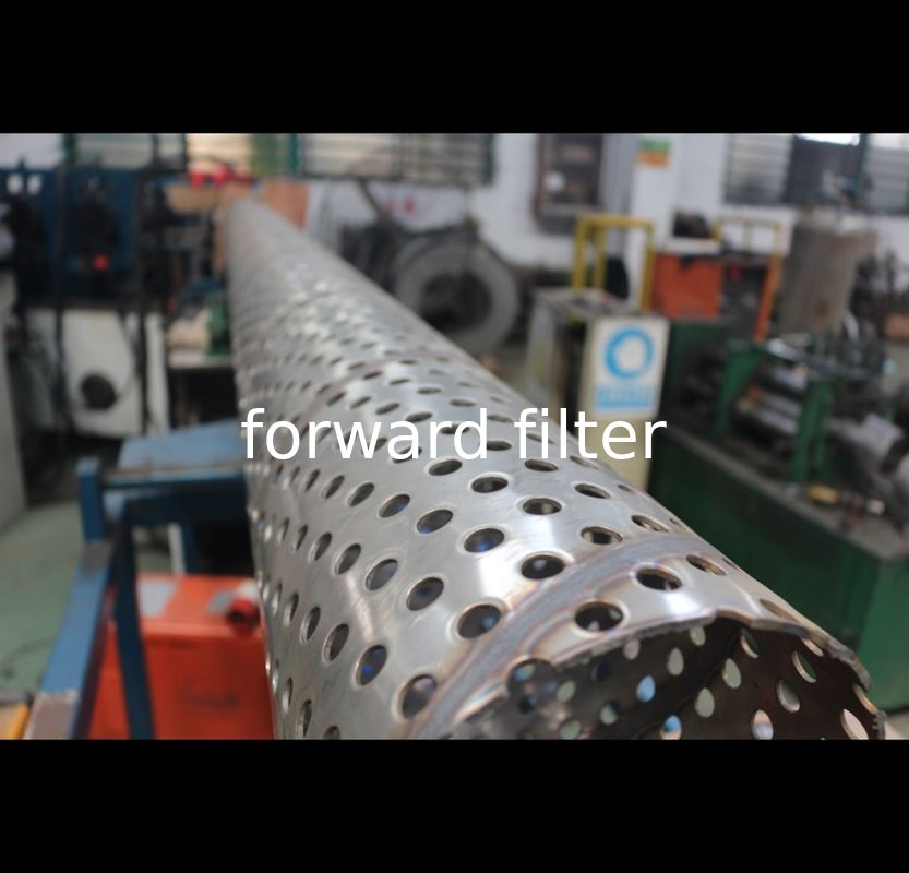 316 316L Perforated Stainless Steel Cylinder Welded Parttern For Decorating Cage Ventilation