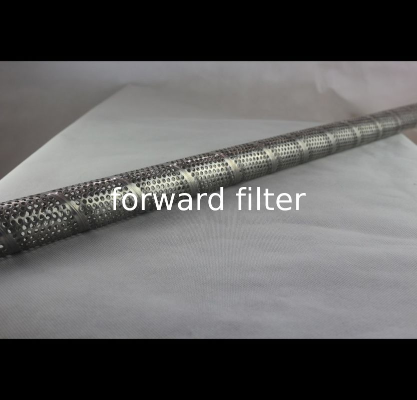Stainless Steel Perforated Round Tubing Welded Seamless Optional 304 316 Alloy
