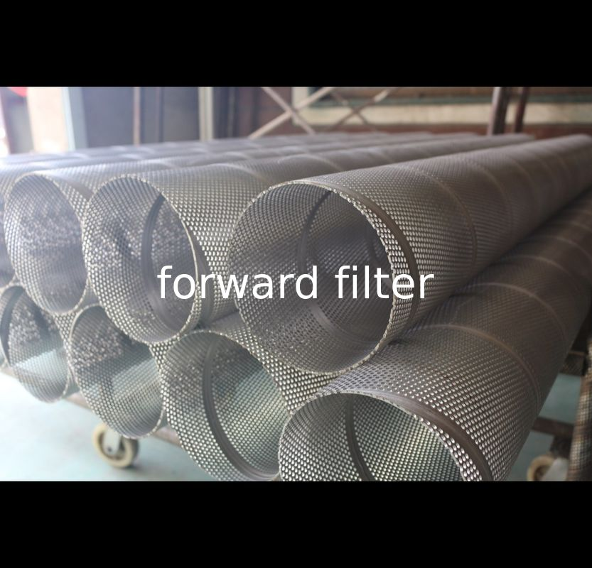 Stainless Steel Petroleum Refining Filtration Tube OEM Accepted Custom Layer