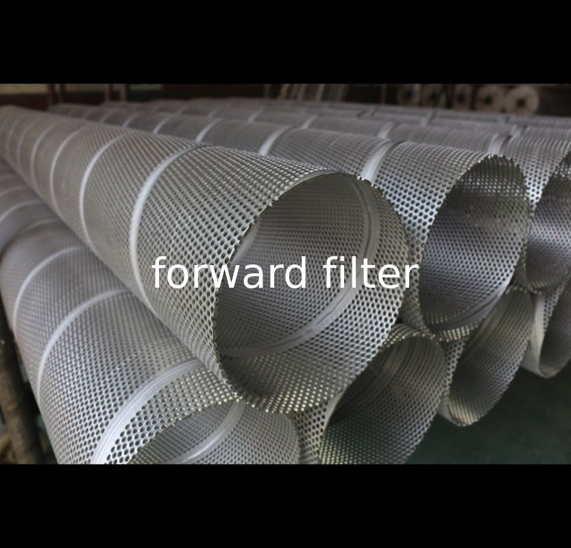 Custom Length Perforated Stainless Cylinder OEM For Gas Filtration Procession